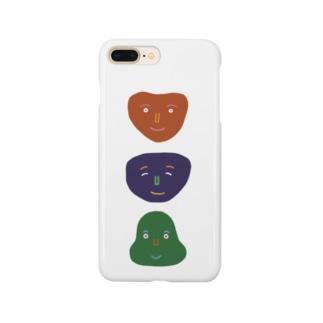 あいさつ3人 Smartphone cases