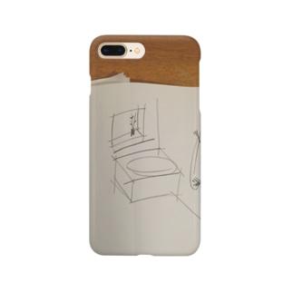 ラフスケッチの風呂 Smartphone cases