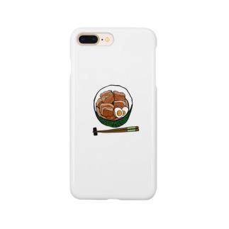 豚の角煮 Smartphone cases
