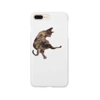 猫 kick Smartphone cases