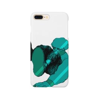 とじこもりくん Smartphone cases