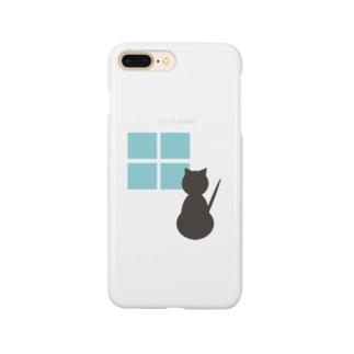 ねこSTAYHOME Smartphone cases