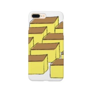ほんとはカステラたくさん食べたいけど、そうはいかないので絵に描いてみた。 Smartphone cases