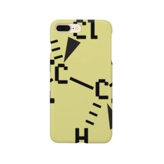 PVC 構造式スマホケース 髪色ver. Smartphone cases