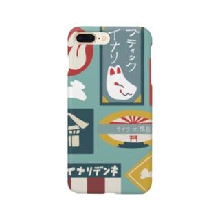 イナリ通り商店街御案内 Smartphone cases