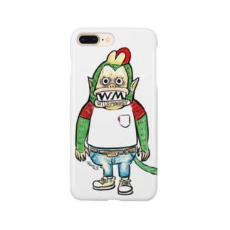 ハードワイルドモンキー Smartphone cases