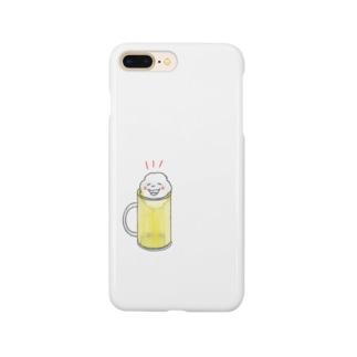 ひさしぶり!生ビールちゃん Smartphone cases