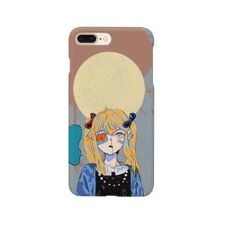 グレ子ちゃんスマホケース Smartphone cases