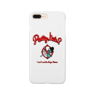 """""""Pretty,huh?""""(明るい生地用) Smartphone cases"""