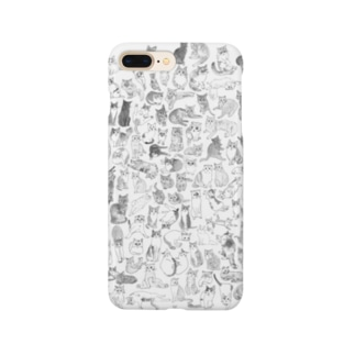 ねこぎゅっと Smartphone cases