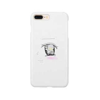 瞳の先に#宇宙 Smartphone cases