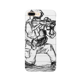 らくがきとくしゅぶたい Smartphone cases
