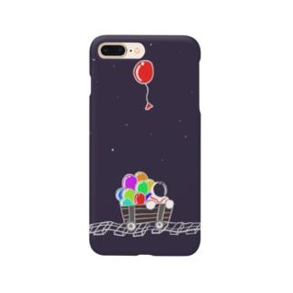 銀河鉄道 Smartphone cases