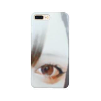 見つめる。 Smartphone cases