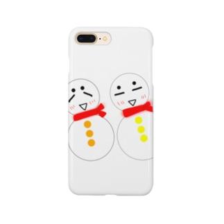 雪だるまくん  Smartphone cases