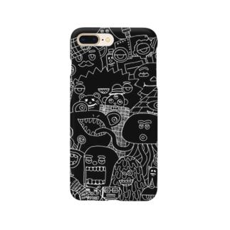 51-86のモンスターズB Smartphone cases