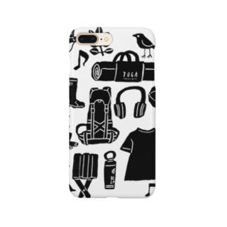 キャンプ大好きじゃろ Smartphone cases
