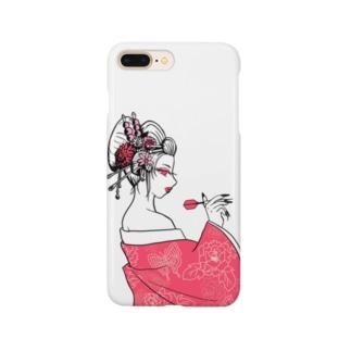 花魁ダーツガール🎯 Smartphone cases