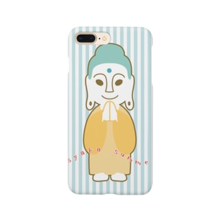 カワモトトモカ@仏像イラストレーターのsyaka summer Smartphone cases