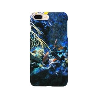 アオマキの海底 Smartphone cases