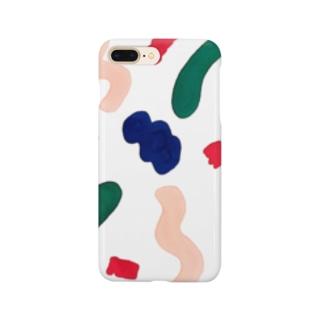 10月の運動会はいらない(ホワイト) Smartphone cases