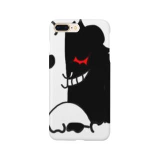 モルモット 天使と悪魔 Smartphone cases