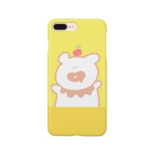 おなかへったくま🍎 Smartphone cases