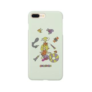 ココシバのココシバ×Sonopuro-Nopuro Smartphone cases