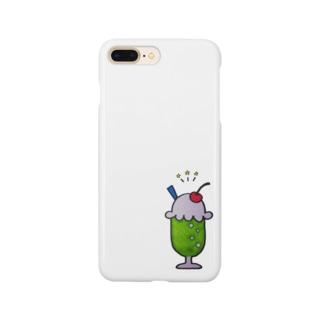しゅわしゅわメロンソーダ Smartphone cases