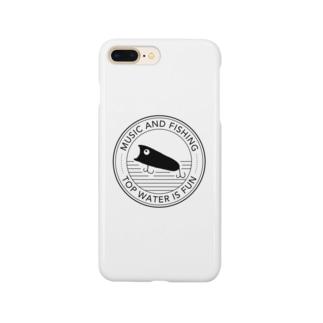 釣りTシャツ トップウォーター Smartphone cases