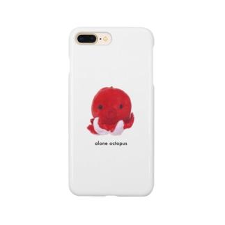 alone octopus Smartphone cases