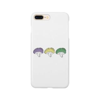 やばいきのこ。 Smartphone cases