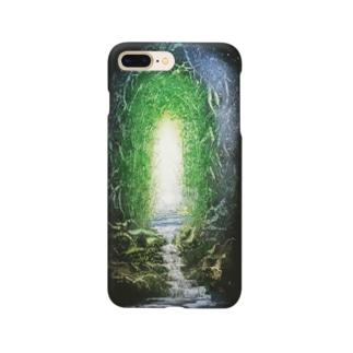 神秘の森 Smartphone cases