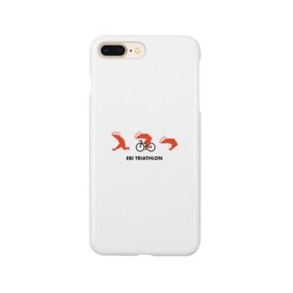 エビトライアスロン Smartphone cases
