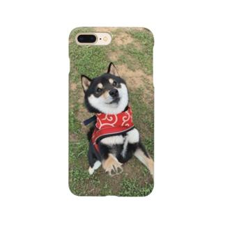 黒豆柴ジャンプ! Smartphone cases