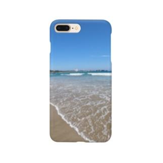 砂浜 Smartphone cases