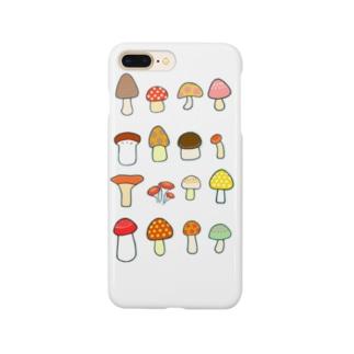 きのこきのこきのこ スマホケース Smartphone Case