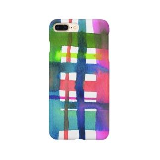 チェックチェックチェック! Smartphone cases