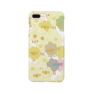 羊羊ひつじ Smartphone cases