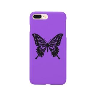 アゲハ蝶 Smartphone cases