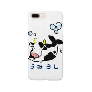モーモーうみうし Smartphone cases