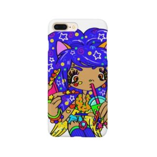 カラフル×ギャル② Smartphone cases