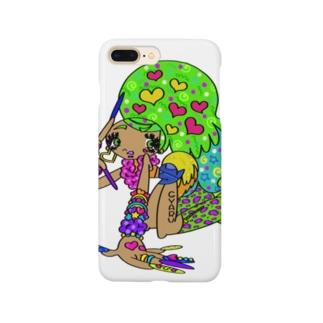 カラフル×ギャル③ Smartphone cases