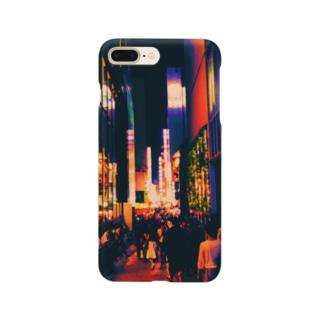 colorful Shinjuku Smartphone cases