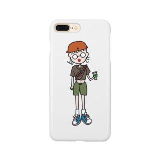 #古着女子 でインスタ投稿する人 Smartphone cases