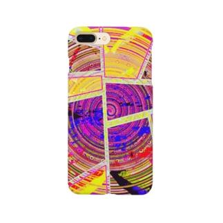サイケデリック・パッション/バジル Smartphone cases
