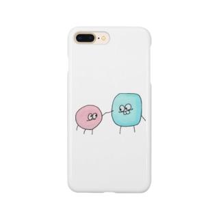 ボスとトゥース Smartphone cases