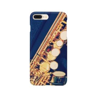 ソプラノサックススマホケース Smartphone cases
