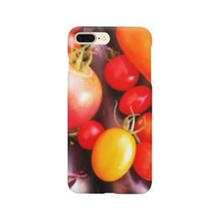 アオマキのベジタブル Smartphone cases
