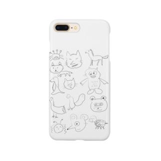 まむふれ1号 Smartphone cases
